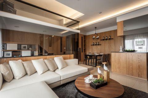 17.65万预算120平米三室两厅装修效果图