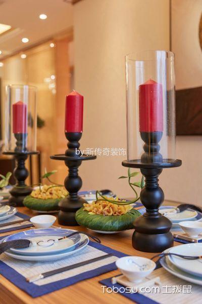 餐厅白色细节现代风格装潢图片