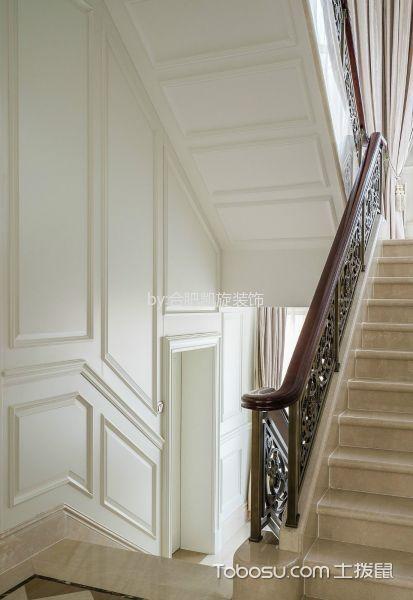 玄关米色楼梯混搭风格装饰设计图片