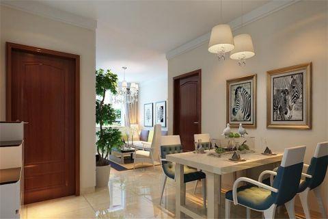 餐厅走廊现代简约风格装饰设计图片