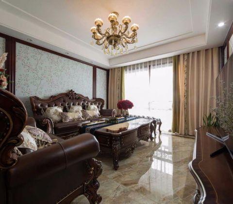 13.8万预算118平米三室两厅装修效果图