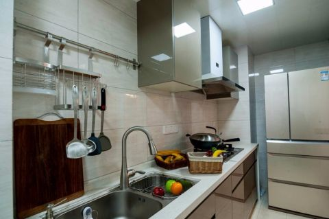 厨房背景墙现代简约风格装饰效果图