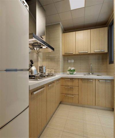 厨房背景墙中式风格装饰图片