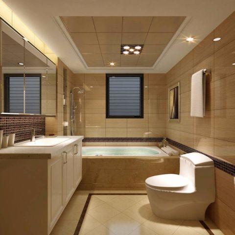 卫生间吊顶中式风格装潢图片