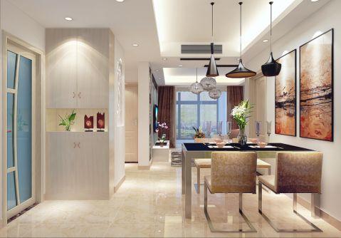 10万预算100平米一居室装修效果图