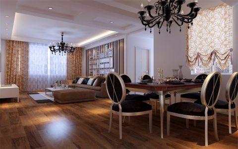 18.9万预算160平米四室两厅装修效果图