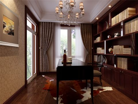 18万预算180平米四室两厅装修效果图