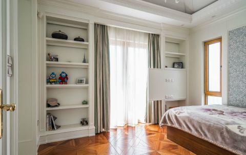 儿童房窗帘混搭风格效果图