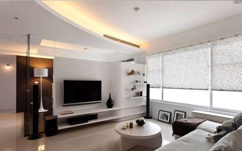 6万预算89平米公寓装修效果图