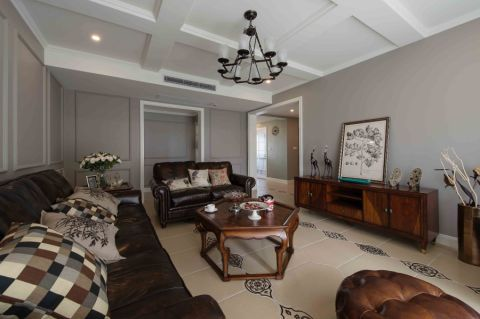 16.8万预算160平米四室两厅装修效果图