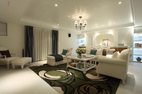 9万预算90平米两室两厅装修效果图