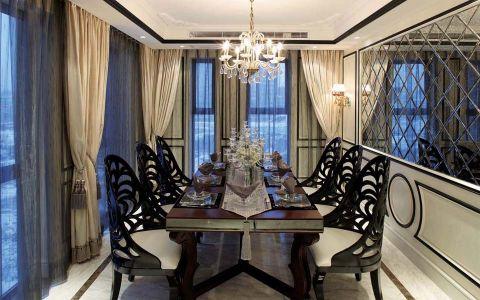 餐厅吊顶新古典风格装饰设计图片