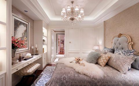 8.55万预算120平米三室两厅装修效果图