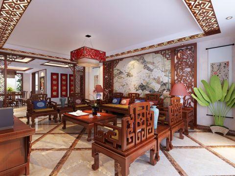 26.8万预算198平米四室两厅装修效果图