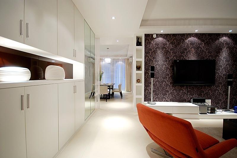 3室1卫2厅98平米现代风格