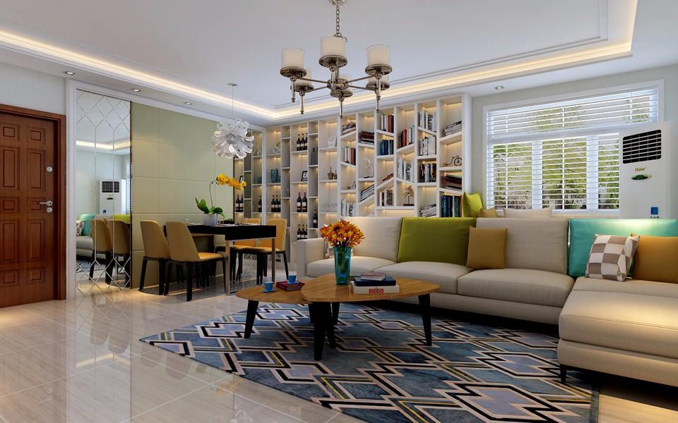 2室1卫2厅130平米现代简约风格