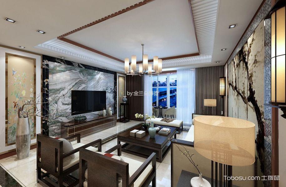 16万预算180平米三室两厅装修效果图