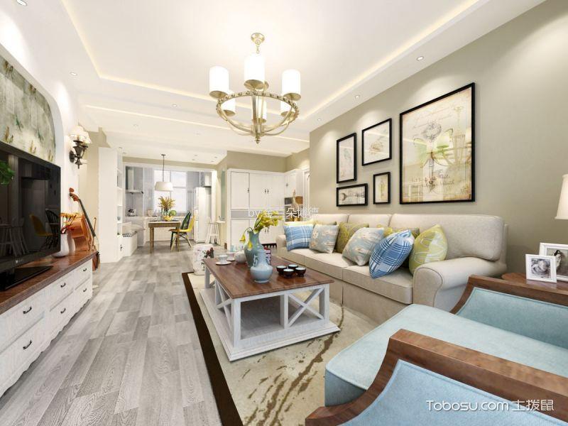 10万预算150平米三室两厅装修效果图
