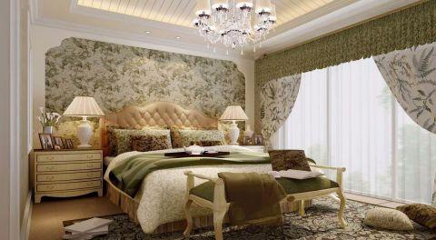 卧室吊顶田园风格效果图