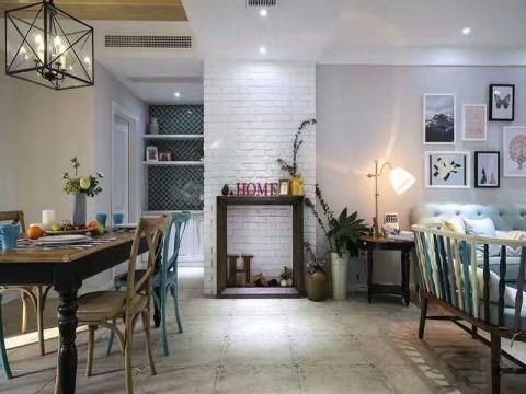 餐厅隔断现代风格装潢图片