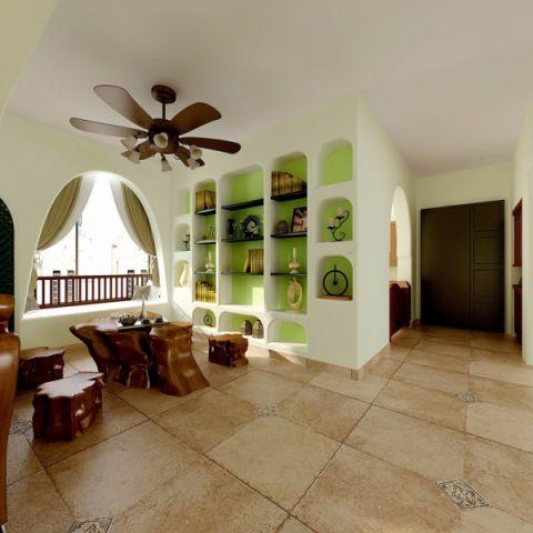 厨房窗帘欧式田园风格装潢设计图片