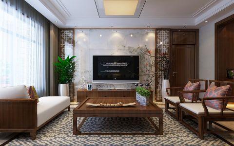 4.5万预算140平米三室两厅装修效果图