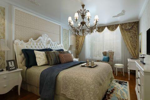 卧室窗帘新古典风格装饰设计图片