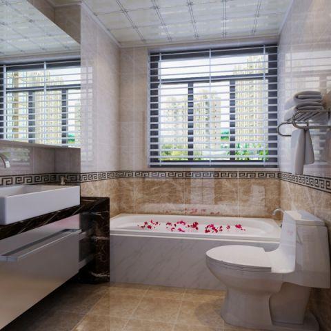 卫生间吊顶新中式风格装修图片