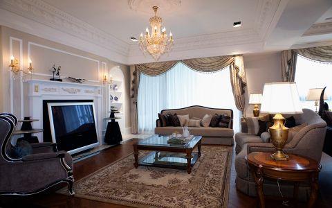 9.55万预算160平米四室两厅装修效果图