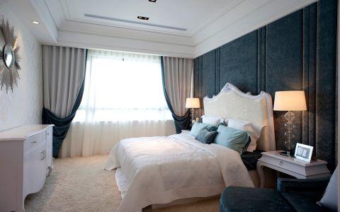 卧室背景墙现代风格效果图