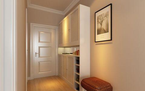 玄关背景墙简约风格装饰设计图片