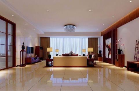 13.6万预算140平米三室两厅装修效果图