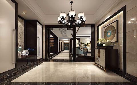 玄关门厅新中式风格装潢设计图片