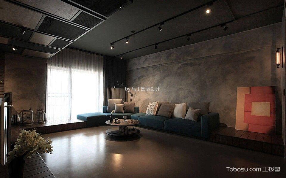 客厅咖啡色榻榻米混搭风格装饰图片