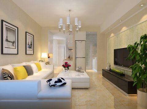客厅照片墙现代简约风格装饰图片