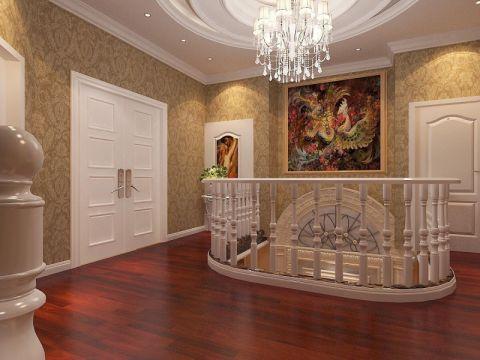 玄关照片墙简欧风格装潢设计图片