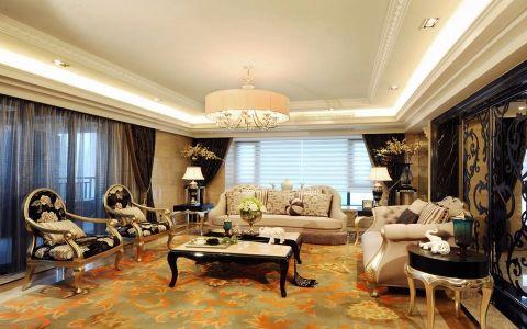 九龙仓御园 欧式风格 3室2厅2卫1厨 168平米