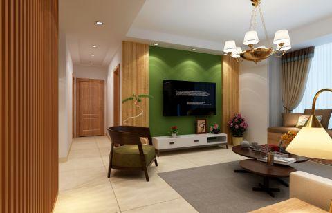 7万预算100平米两室两厅装修效果图