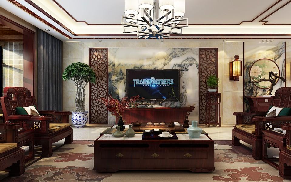 4室1卫2厅260平米中式风格