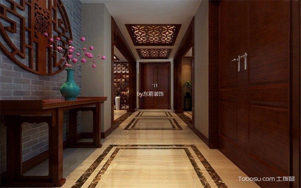 客厅 走廊_26.8万预算160平米四室两厅装修效果图