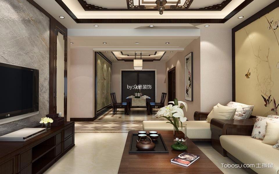 中式风格白金汉府装修案例