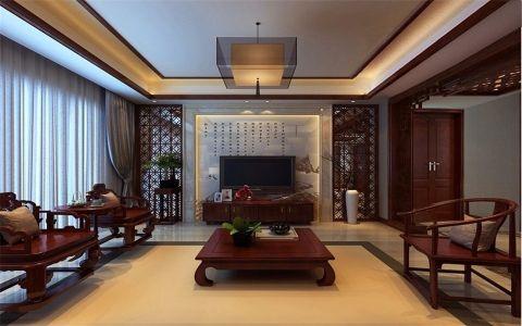 26.8万预算160平米四室两厅装修效果图