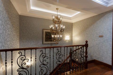 玄关楼梯欧式风格装饰图片