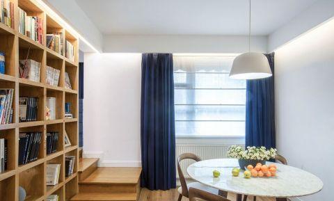 书房窗帘简约风格装修图片