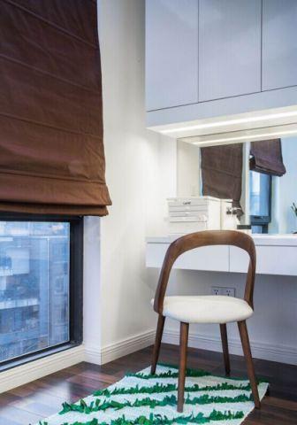 书房窗帘简约风格装修设计图片
