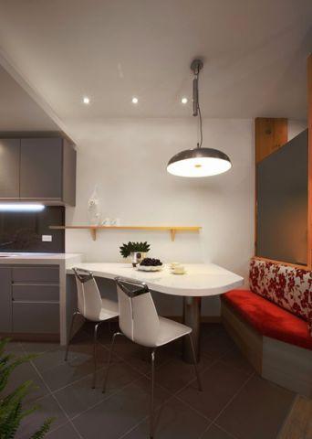 餐厅吊顶现代简约风格装修设计图片