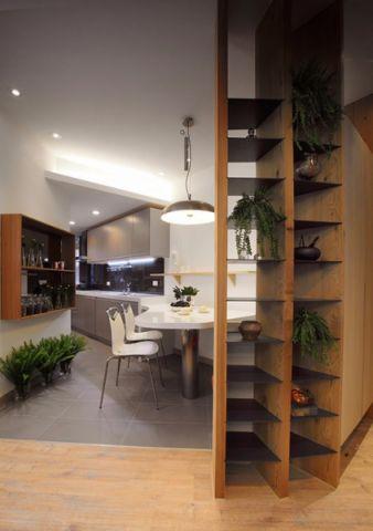 餐厅隔断现代简约风格装饰效果图