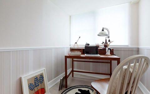 书房背景墙现代风格效果图