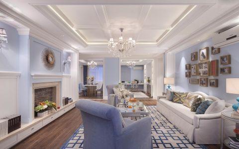5.84万预算140平米三室两厅装修效果图
