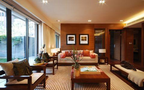 9.53万预算160平米四室两厅装修效果图